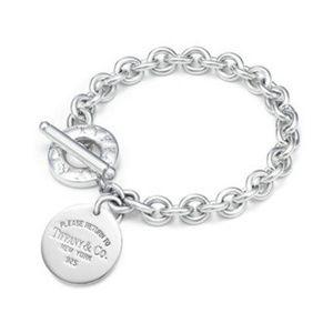 Jewelry - Return to Tiffany & Co Round Tag Toggle Bracelet